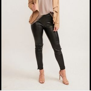 NWT Wilson Italian leather pants size 2